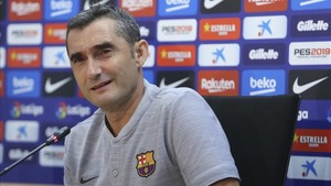Valverde habló de su futuro en la rueda de prensa