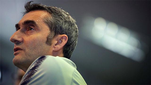 Valverde valoró positivamente la evolución del Barça femenino