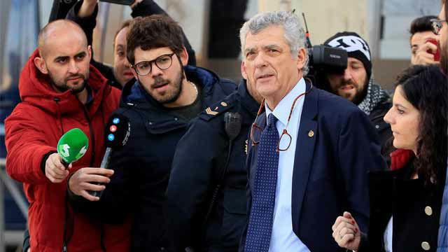 Villar declara en la Audiencia Nacional ante el juez Pedraz por la instrucción de la Operación Soule