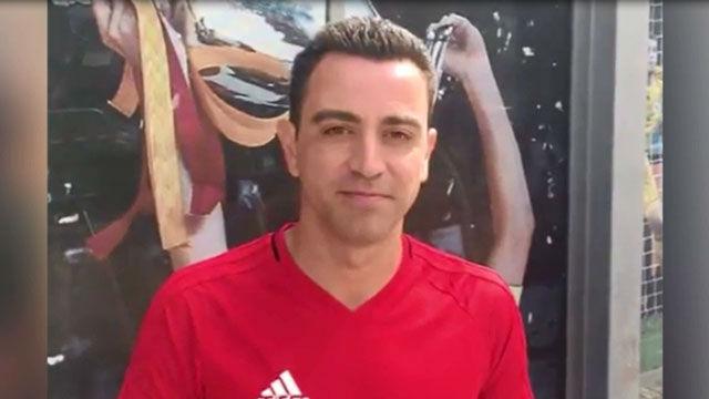 Xavi dio la bienvenida a la cuenta de Instagram de Johan Cruyff