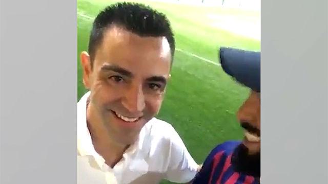 Xavi habla de su futuro como entrenador del Barça