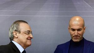 Zidane dijo adiós al Madrid