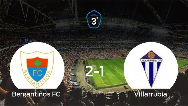 El Bergantiños se queda fuera de los playoff a pesar de vencer al Villarrubia (2-1)