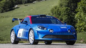 Alpine A110 Rally.