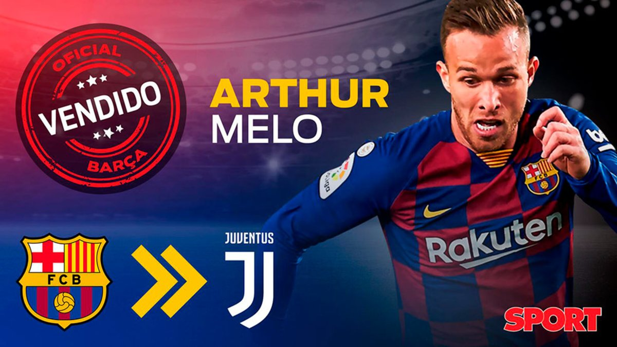 OFFICIAL: Arthur Melo signs for Juventus