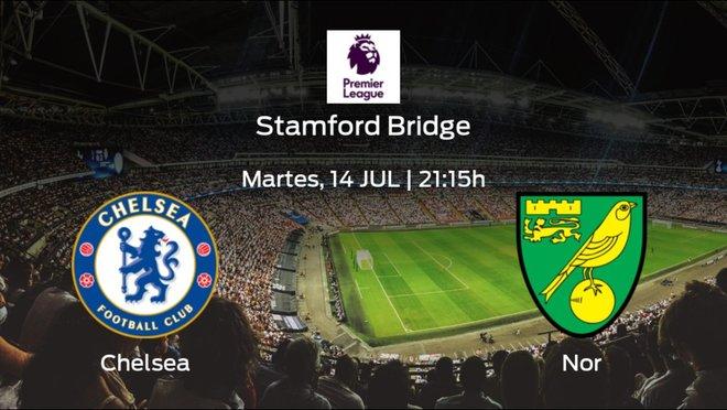 Previa del encuentro de la jornada 36: Chelsea contra Norwich City