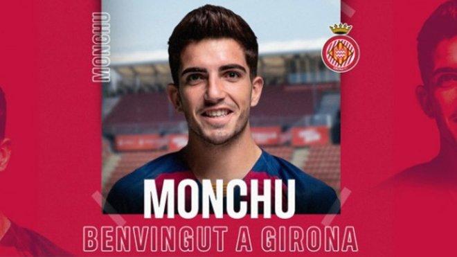 Oficial: Monchu, cedido al Girona
