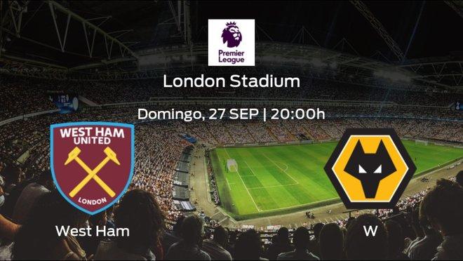 Previa del encuentro: el West Ham recibe al Wolverhampton Wanderers