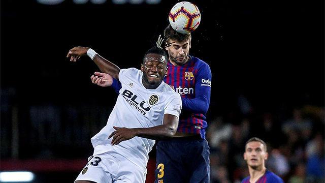 El 1x1 del FC Barcelona ante el Valencia