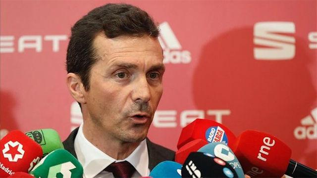 Amor da la bienvenida a Setién y desea lo mejor a Valverde