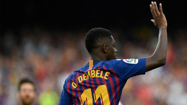 Así ha sido el cambio de Dembélé esta temporada