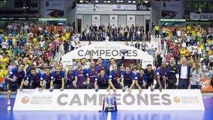 El Barça Lassa, flamente campeón de la Copa del Rey