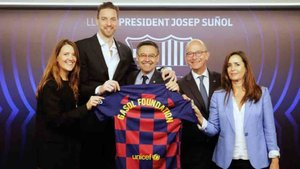 El Barça y Pau Gasol estrechan lazos a través de sus fundaciones