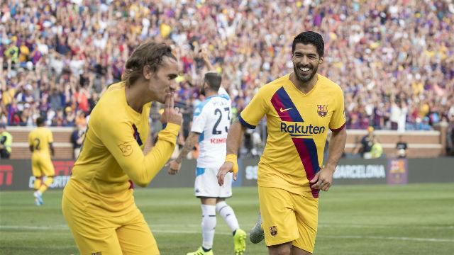 El Barça saca su mejor versión ante el Napoli