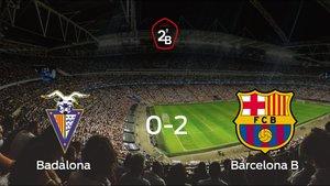 El Barcelona B gana 0-2 en el estadio del Badalona