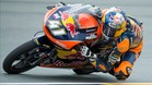 Brad Binder, primer match ball en Aragó