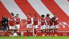 Buenas sensaciones del Arsenal antes del parón