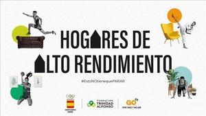 El COE, GO fit y la Fundación Trinidad Alfonso lanzan Hogares de Alto Rendimiento
