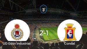 El Condal pierde ante el Gijón Industrial por 2-1