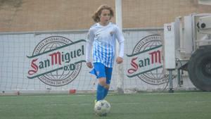 Cristobal Muñoz, en la Power Gol Cup que se disputó el pasado diciembre en Cornellà