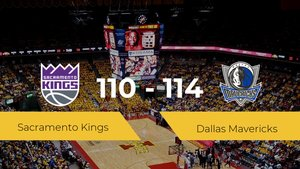 Dallas Mavericks se impone por 110-114 frente a Sacramento Kings