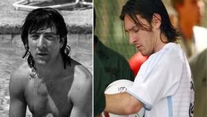 Dustin Hoffman ha revolucionado las redes por su parecido con Messi