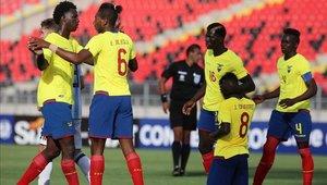 A Ecuador solo le resta un partido en el grupo B.