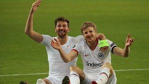 El Eintracht se metió en octavos de final de la Europa League