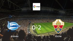 Elche cruise to a 0-2 win vs. Alavés at Estadio de Mendizorroza