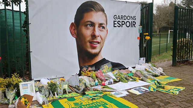 El emotivo homenaje de los jugadores del Nantes a Emiliano Sala