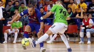 Ferrao marcó el 2-3 en la derrota ante el Palma Futsal