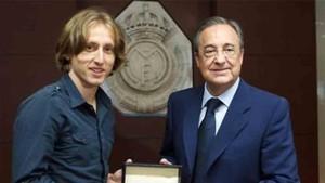 Florentino Pérez y Modric tienen un pacto según informan en Italia