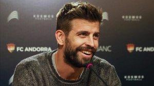 Gerard Piqué tiene aspiraciones muy altas para su Andorra