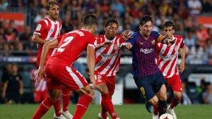 El Girona - Barça no se jugará en Miami