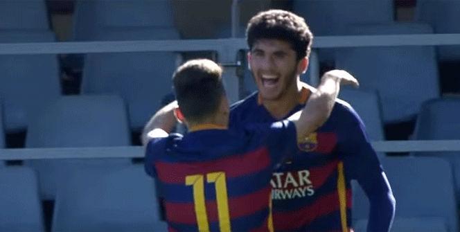 El golazo de Carles Aleñà en la UEFA Youth League