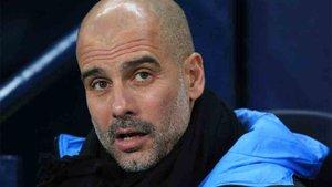 Guardiola afronta el partido ante el Leicester