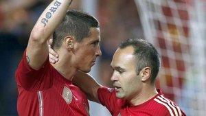 Iniesta y Torres son grandes amigos de su etapa en la selección