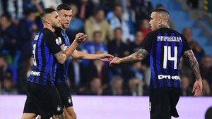 El Inter llega a Barcelona con varias incógnitas