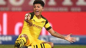 Jadon Sancho juega en el Borussia Dortmund
