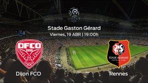Jornada 33 de la Ligue 1: Previa del duelo Dijon FCO - Rennes