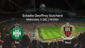 Jornada 16 de la Ligue 1: previa del duelo AS Saint Etienne - OGC Niza