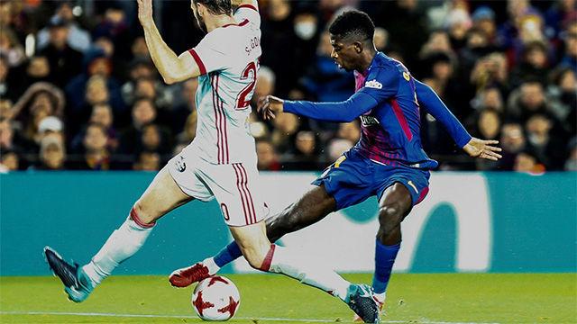 LACOPA | FC Barcelona - Celta de Vigo (5-0): Dembélé, ovacionado