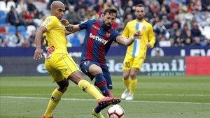 Levante y Espanyol se repartieron los puntos en un duelo muy disputado.