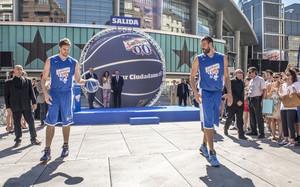 Los hermanos Gasol iniciaron este miércoles el Tour ciudadano, antesala a la Copa del Mundo de Baloncesto FIBA 2014