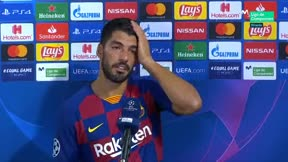 Luis Suárez: Contra el Bayern a partido único todo es posible, son uno de los candidatos y nosotros también