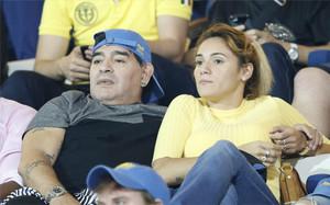 Maradona quiere entrenar a Argentina