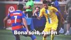 Mensaje de despedida del Espanyol a Aarón