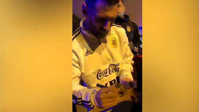 Messi desata la locura en Mallorca