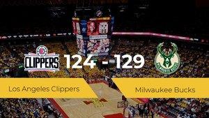 Milwaukee Bucks se hace con la victoria en el Staples Center contra Los Angeles Clippers por 124-129