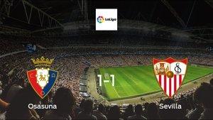 Osasuna and Sevilla ended the game with a 1-1 draw at Estadio El Sadar